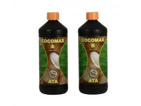 Základní dvousložkové hnojivo pro kokosové substráty Coco Max od Atami, 1l.