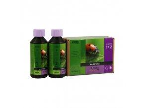 Preventivní přípravek pro posílení odolnosti rostlin Bcuzz Bio Deffence 1+2 od Atami, 250ml.