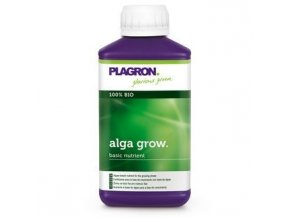 Organické růstové hnojivo Alga Grow od Plagron, 250ml.
