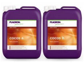 Základní dvousložkové hnojivo pro kokosové substráty Cocos A+B od Plagron, 10l.