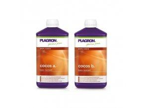 Základní dvousložkové hnojivo pro kokosové substráty Cocos A+B od Plagron, 1l.