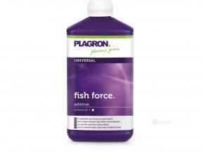 Organické základní růstové hnojivo Fish Force od Plagron, 1l.