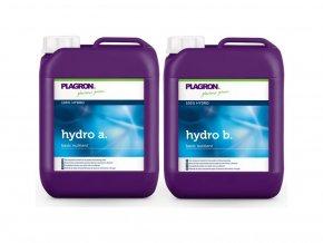 Základní dvousložkové hnojivo pro závlahové systémy Hydro A+B od Plagron, 10l.