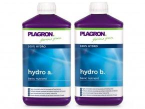 Základní dvousložkové hnojivo pro závlahové systémy Hydro A+B od Plagron, 1l.