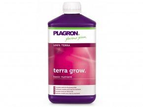 Minerální růstové hnojivo pro hliněné substráty Terra Grow od Plagron, 1l.