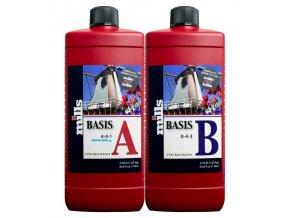 Základní dvousložkové hnojivo Basis A/B od Mills, 1l.