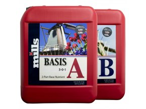 Základní dvousložkové hnojivo Basis A/B od Mills, 5l.