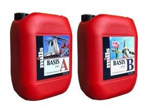 Základní dvousložkové hnojivo Basis A/B od Mills, 10l.