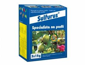 Fungicid ve formě granulí proti padlí, Sulfurus od Agro CS.
