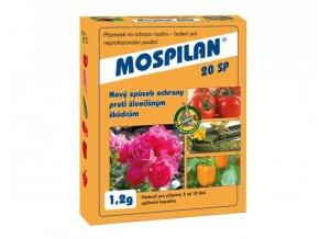 Ochrana proti škůdcům ve formě prášku, Mospilan od Agro CS.