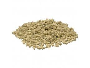 Kostičky z minerální vaty (rockwoll) o velikosti 10x10x10mm, 1l, Grodan.