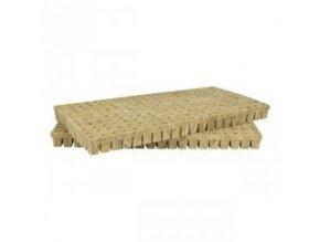 Kostky z minerální vaty (rockwoll) o velikosti 25x25x40mm, 6000ks, Grodan.