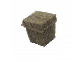 Kostky z minerální vaty (rockwoll) o velikosti 36x36x40mm, 1ks, Grodan.
