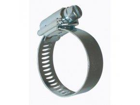 Kovová stahovací páska na hadice o průměru 20-30mm, Irritec.
