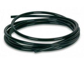 Černá hadička o průměru 1/4 palce pro propojení reverzní osmózy, 10m od Growmax.