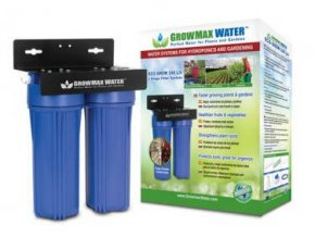 Vodní filtr jako přídavný filtr k reverzní osmóze o průtoku 240l/h, Growmax.