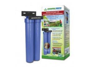 Vodní filtr jako přídavný filtr k reverzní osmóze o průtoku 480l/h, Growmax.