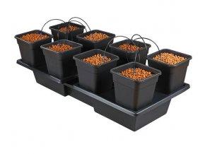 Zavlažovací systém pro 8 rostlin v 18l květníku, Wilma LW8 od Atami.