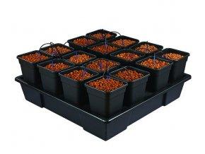 Zavlažovací systém pro 16 rostlin v 11l květníku, Wilma XXL16 od Atami.