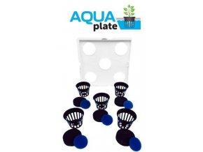 Kit hydroponických květníků k umístění do květníků Autopot, Aquaplate Square od Autopot.