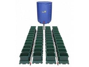 Samozavlažovací systém s 40 květníky a 400l skládací nádrží, Easy2Grow 40 od Autopot.
