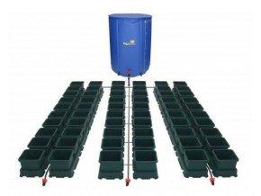 Samozavlažovací systém s 60 květníky a 400l skládací nádrží, Easy2Grow 60 od Autopot.