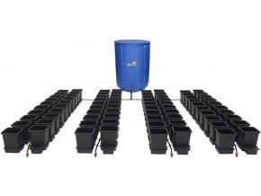 Samozavlažovací systém s 80 květníky a 750l skládací nádrží, Easy2Grow 80 od Autopot.
