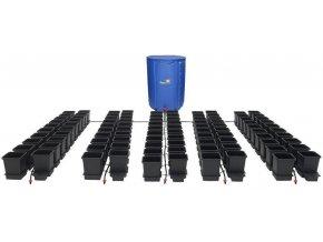 Samozavlažovací systém se 100 květníky a 750l skládací nádrží, Easy2Grow 100 od Autopot.