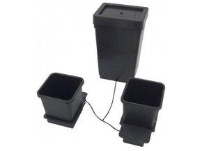 Samozavlažovací systém pro 2 rostliny a nádrž o objemu 47l, 1POT Autopot.