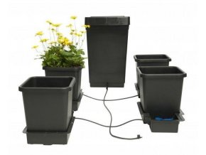 Samozavlažovací systém pro 4 rostliny a nádrž o objemu 47l, 1POT Autopot.