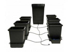 Samozavlažovací systém pro 6 rostlin a nádrž o objemu 47l, 1POT Autopot.