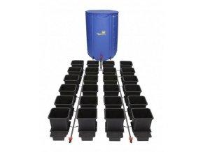 Samozavlažovací systém pro 24 rostlin a rozkládací 400l nádrží, 1POT Autopot.