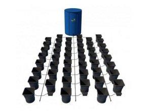 Samozavlažovací systém pro 48 rostlin a rozkládací 400l nádrží, 1POT Autopot.