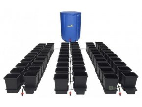 Samozavlažovací systém pro 60 rostlin a rozkládací 400l nádrží, 1POT Autopot.