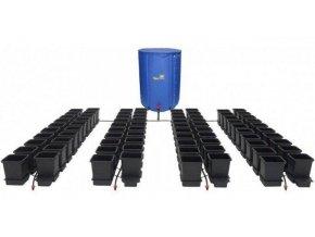 Samozavlažovací systém pro 80 rostlin a rozkládací 750l nádrží, 1POT Autopot.