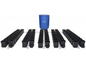 Samozavlažovací systém pro 100 rostlin a rozkládací 750l nádrží, 1POT Autopot.