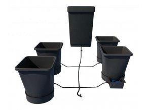 Samozavlažovací systém pro 4 rostliny a nádrž o objemu 47l, Autopot.