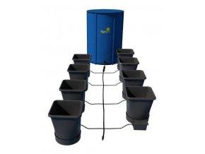 Samozavlažovací systém pro 8 rostlin a rozkládací 100l nádrží, Autopot.
