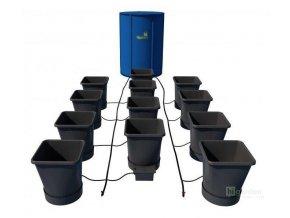 Samozavlažovací systém pro 12 rostlin a rozkládací 225l nádrží, Autopot.