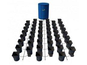 Samozavlažovací systém pro 48 rostlin a rozkládací 400l nádrží, Autopot.