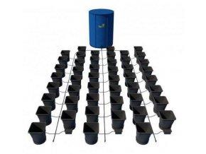 Samozavlažovací systém pro 60 rostlin a rozkládací 400l nádrží, Autopot.