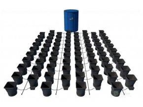 Samozavlažovací systém pro 80 rostlin a rozkládací 750l nádrží, Autopot.