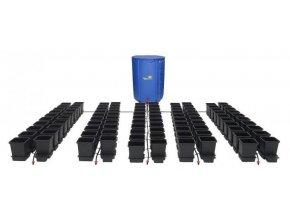Samozavlažovací systém pro 100 rostlin a rozkládací 750l nádrží, Autopot.