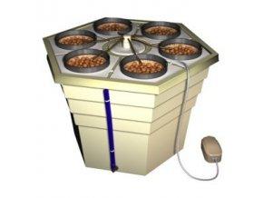 Samozavlažovací systém pro 6 rostlin, Ecogrower od GHE/ TA.
