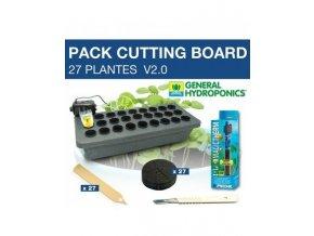 Hydroponická řízkovnice pro 27 řezů, Cutting Board 27 od GHE/ TA.