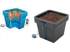 Samozavlazovací systém pomocí vzduchovacího čerpadla, Aquafarm od GHE/TA