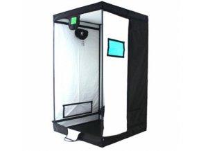 Pěstební stan o rozměrech 120x120x200, XL od BudBox Pro.