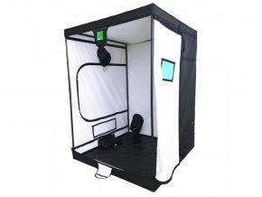 Pěstební stan o rozměrech 150x150x200, XL+ od BudBox Pro.