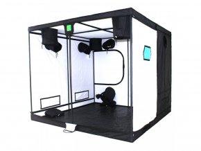 Pěstební stan o rozměrech 200x200x200, Titan 1 od BudBox Pro.