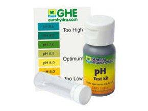Kapkový pH test od General Hydroponics/Terra Aquatica.